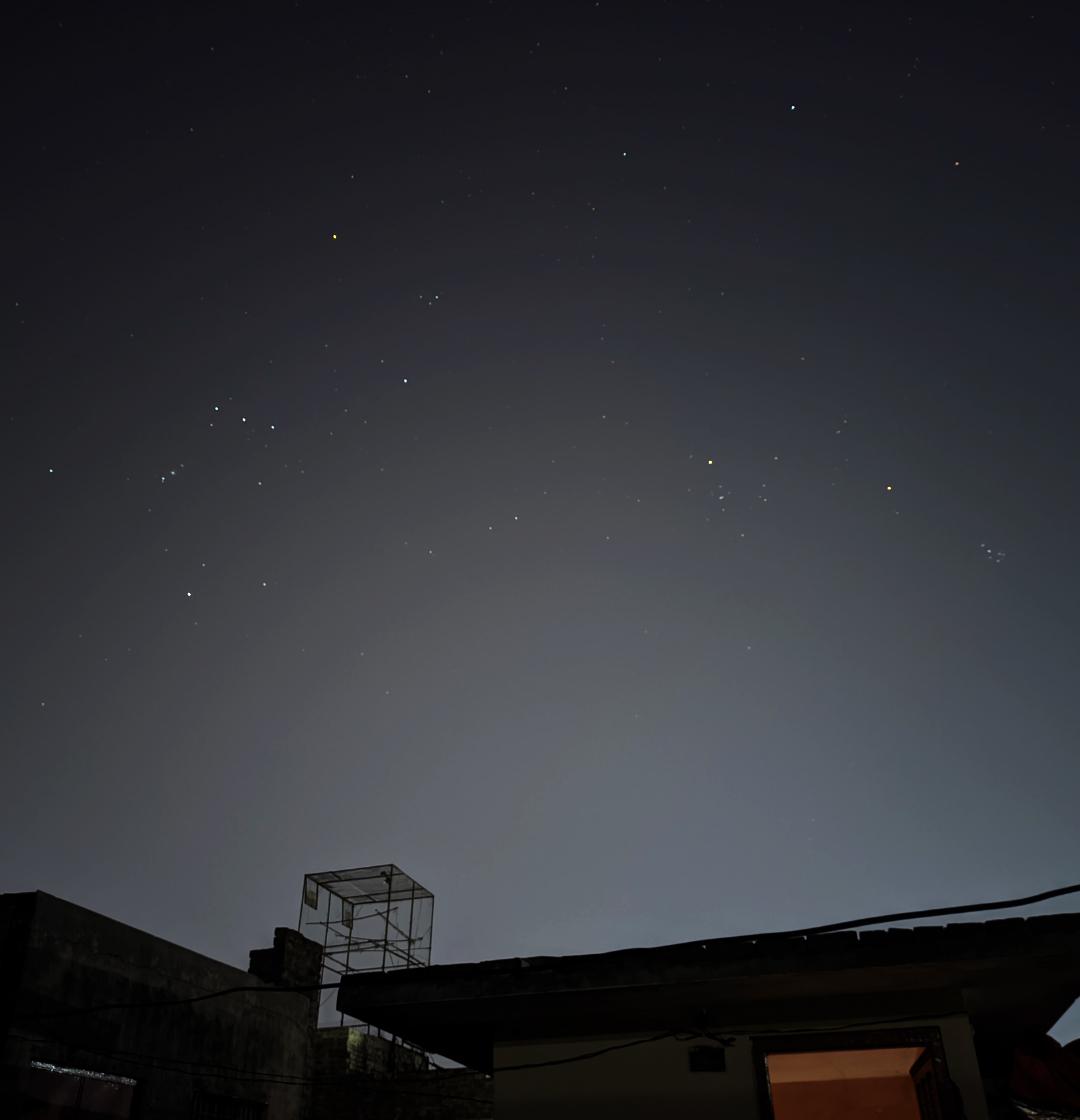 Picture of Winter Night Sky by Abrar Zulfiqar